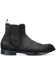 Officine Creative Anatomia 14 Chelsea Boots Grey