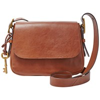 Fossil Harper Small Across Body Bag Brown