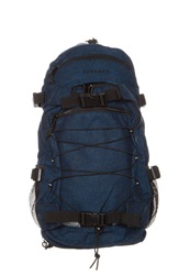 Forvert New Louis Rucksack Flannel Navy Blue
