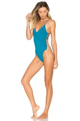 L Space Wildside One Piece Blue