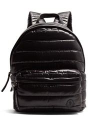 Moncler Fuji Quilted Nylon Backpack Black
