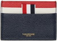 Thom Browne Tricolor Stripe Card Holder