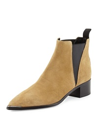 Acne Studios Acne Jensen Pointy Toe Ankle Boot Beige
