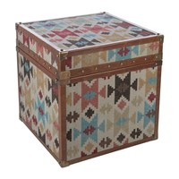 Amara Aztec Leather Chest Multi