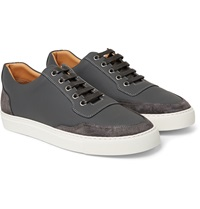Harry's Of London Mr Jones Leather And Suede Sneakers