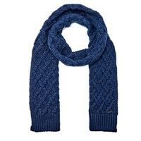 Michael Kors Men's Cable Knit Scarf Midnight
