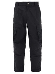 Givenchy Patch Pocket Tapered Cargo Trousers Black