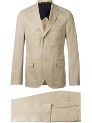 Mp Massimo Piombo Two Piece Suit Nude And Neutrals
