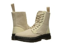Dr. Martens Combs Fold Down Boot Sand 16Oz. Washed Canvas Kanga Boots Gray