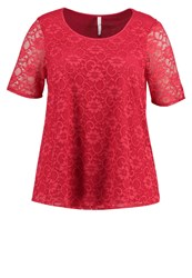Evans Blouse Red