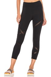 Solow Racebreak Capri Legging Black