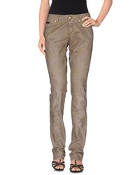 Blumarine Denim Denim Trousers Women Khaki