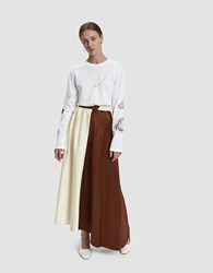 Walk Of Shame Double Colored Skirt Off White