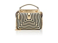 Fendi Women's Dot.Com Satchel Gold