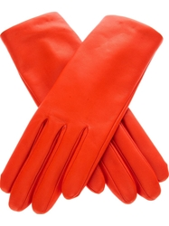 Agnelle Classic Gloves Yellow And Orange