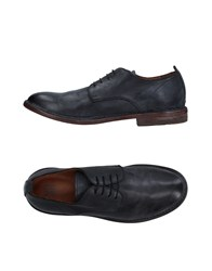 Moma Lace Up Shoes Steel Grey