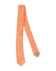 Jil Sander Ties Orange