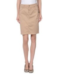 Ajay Knee Length Skirts Sand
