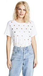 South Parade Mini Stars Tee White