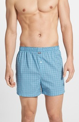 Michael Kors Cotton Boxers Assorted 2 Pack Light Blue Dark Blue
