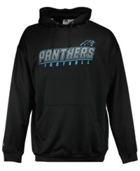 Majestic Men's Carolina Panthers Punt Return Big And Tall Hooded Sweatshirt Black