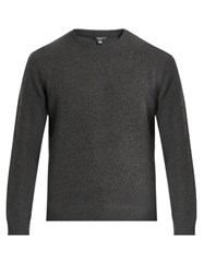 Vince Crew Neck Cashmere Sweater Grey