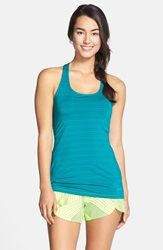 Brooks 'Go To' Racerback Tank Kale
