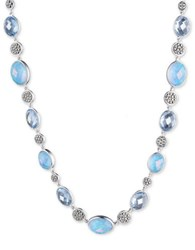 Judith Jack Cubic Zirconia And Sterling Silver Necklace