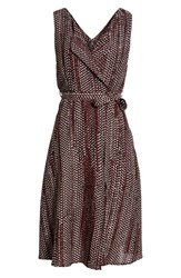 Volcom Stone Resort Dress Burgundy