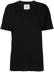 Zoe Karssen Loose Fit T Shirt Black