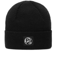 Paul Smith Merino Beanie Black