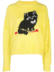 Ashley Williams Cat Embroidered Sweater 60