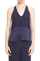 Women's Brochu Walker 'Lana' Racerback Silk Satin Tank