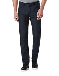 Perry Ellis Slim Fit Cotton And Linen Jeans