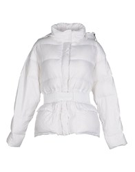 Aspesi Down Jackets White