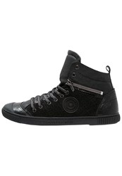 Pataugas Banjou Hightop Trainers Noir Black