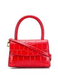 By Far Top Handle Tote Red
