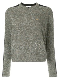 Bella Freud Teeny Bopper Tinsel Jumper Metallic