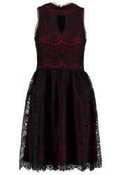 Anna Field Cocktail Dress Party Dress Pomegranate Black