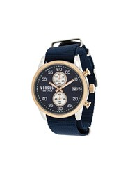 Versus Round Shape Watch Blue