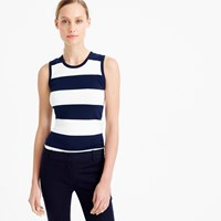 J.Crew Perfect Fit Striped Shell
