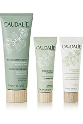 The Outnet Beauty Caudalie Mask Trio Set Colorless