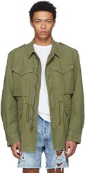 Adaptation Green War On Words Army Surplus Jacket