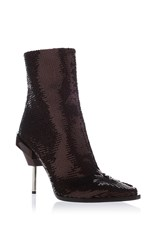 Emilio Pucci Sequin Boot Black