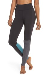 Splits59 Flash Leggings Black Heather Grey Blue Surf