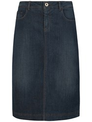 Seasalt Pordenack Point Skirt Denim