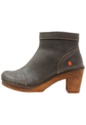 Art Amsterdam Ankle Boots Brown Grey