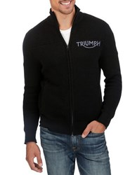 Lucky Brand Triumph Zip Up Blue