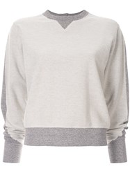 Rag And Bone Utility Sweatshirt Grey