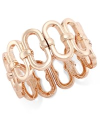 Inc International Concepts Rose Gold Tone Infinity Stretch Bracelet Only At Macy's